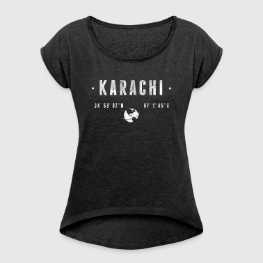 Karachi - Women's T-shirt with rolled up sleeves