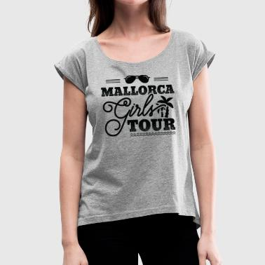 B Girl MALLORCA GIRLS TOUR B MALLE - Women's T-Shirt with rolled up sleeves