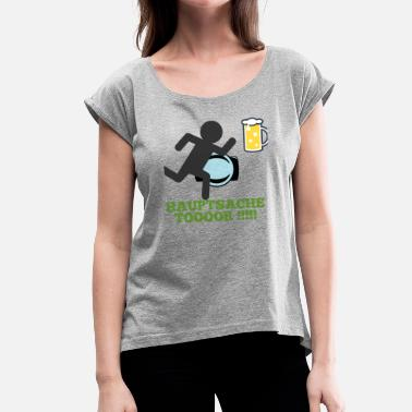 Gate gate - Women's T-Shirt with rolled up sleeves