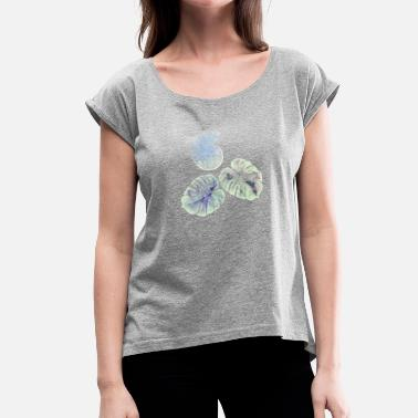 Ammonit Ms. Golliwog_Annas Ammonite - Women's T-Shirt with rolled up sleeves