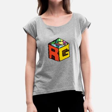 Rg RG Cube - Women's T-Shirt with rolled up sleeves