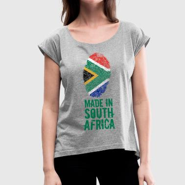 Made In South Africa / South Africa - Women's T-Shirt with rolled up sleeves