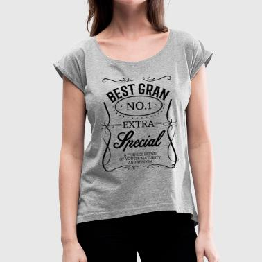 BEST GRAN - Women's T-Shirt with rolled up sleeves