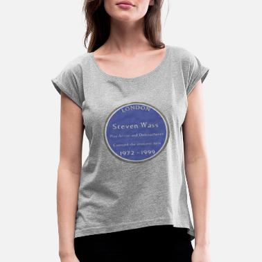 Plaque Steve Wass Plaque - Women's Rolled Sleeve T-Shirt