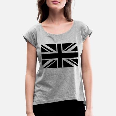 British Flag British Flag - Women's Rolled Sleeve T-Shirt