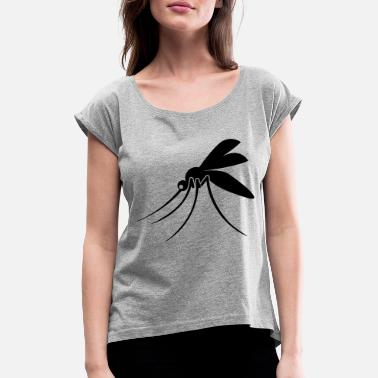 mosquito - Women's Rolled Sleeve T-Shirt