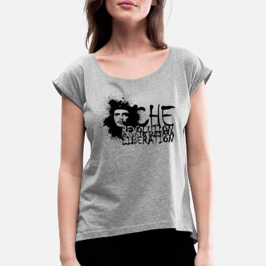 Che Guevara Che Guevara Revolution Liberation - Women's Rolled Sleeve T-Shirt