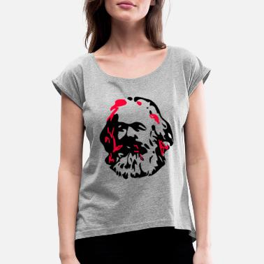 Marx Marx - Women's Rolled Sleeve T-Shirt
