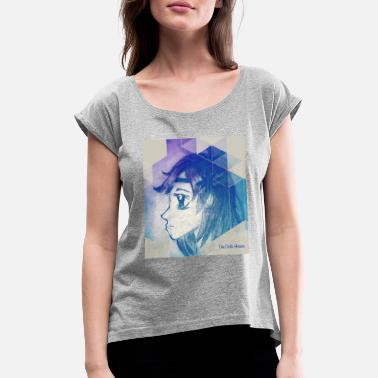 Folletto Pixie Eyes - Camiseta con manga enrollada mujer