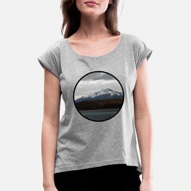Mountains - Women's Rolled Sleeve T-Shirt