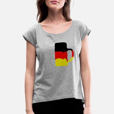 Germany - Women's Rolled Sleeve T-Shirt