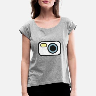 CAMERA - Women's Rolled Sleeve T-Shirt