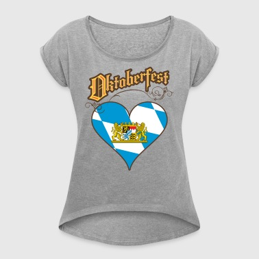 Oktoberfest - Women's T-shirt with rolled up sleeves