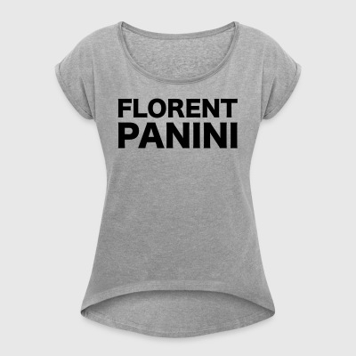 Florent Panini - Women's T-shirt with rolled up sleeves
