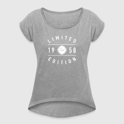Limited Edition Est 1958 - Women's T-shirt with rolled up sleeves