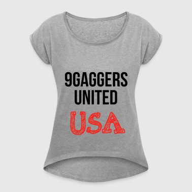 9gagger USA - Women's T-shirt with rolled up sleeves