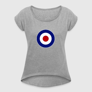 target - Women's T-shirt with rolled up sleeves