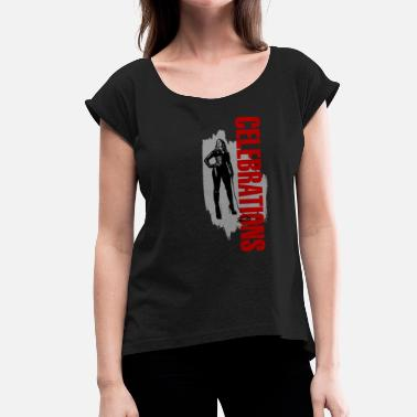 Celebration Celebrations - Women's T-Shirt with rolled up sleeves