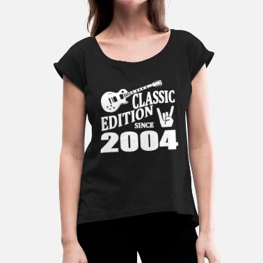 Since 2004 Classic edition since 2004 - Women's T-Shirt with rolled up sleeves