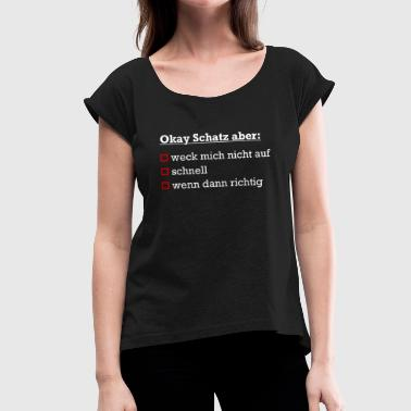 Good Sex Sex relationship - Women's T-Shirt with rolled up sleeves