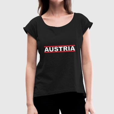 Austria Austria - Women's T-Shirt with rolled up sleeves