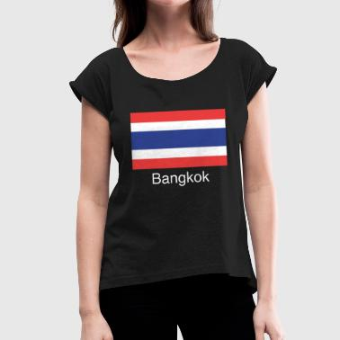 Bangkok - Women's T-Shirt with rolled up sleeves