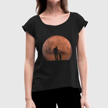 Mars generation - Women's T-Shirt with rolled up sleeves
