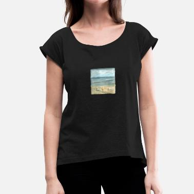 Magritte magritte - Women's T-Shirt with rolled up sleeves