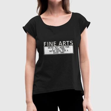 Fine Art fine arts - Women's T-Shirt with rolled up sleeves