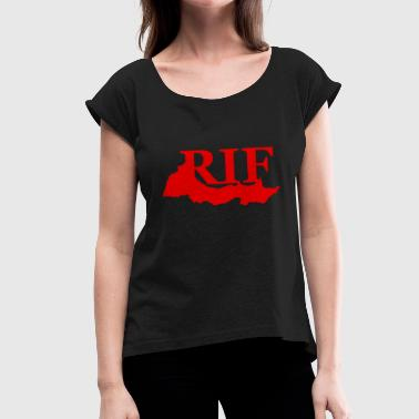 Riffing Republic Rif T-shirt - Women's T-Shirt with rolled up sleeves