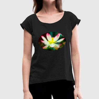 Lotus Position lotus - Women's T-Shirt with rolled up sleeves