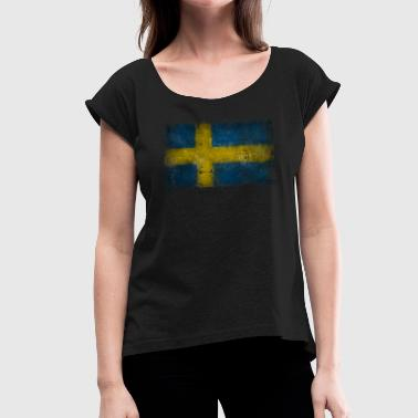 sweden - sweden - Women's T-Shirt with rolled up sleeves