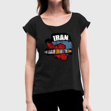 Tehran Iran. Tehran - Women's T-Shirt with rolled up sleeves