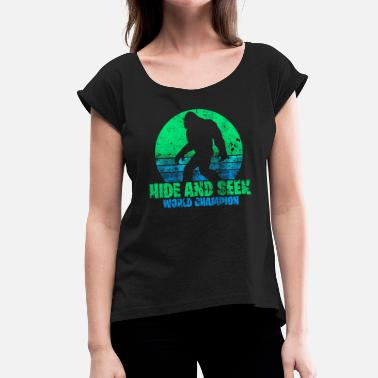 Big Foot Big Foot - Women's T-Shirt with rolled up sleeves