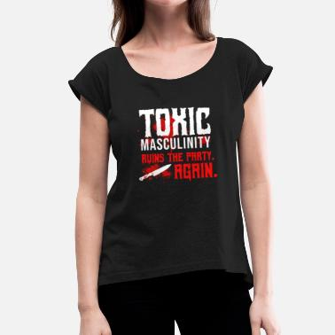 Murder Mystery Murderino Podcast Fan Murder True Crime Ssdgm - Women's T-Shirt with rolled up sleeves