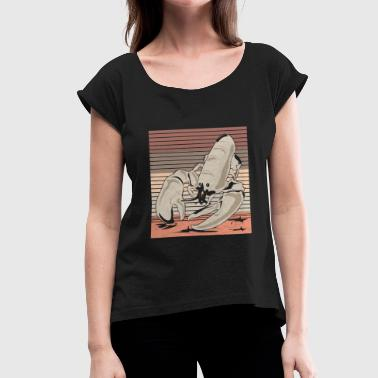 Lobster lobster - Women's T-Shirt with rolled up sleeves