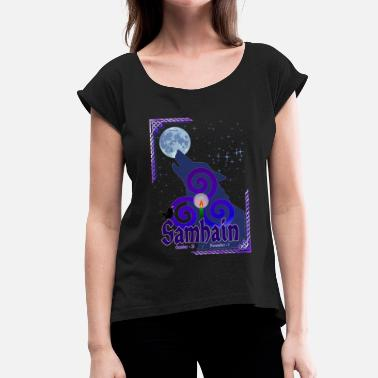 Samhain Samhain - Women's T-Shirt with rolled up sleeves