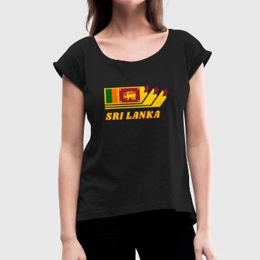 Sri Lanka - Women's T-Shirt with rolled up sleeves