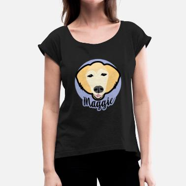 Golden Ratio The Golden Ratio Maggie - Women's T-Shirt with rolled up sleeves