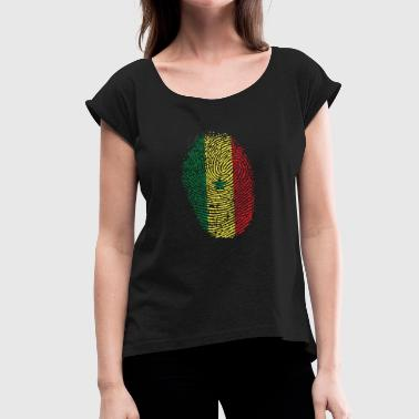 Senegal - Women's T-Shirt with rolled up sleeves