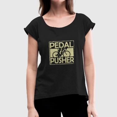 Racing bike - Women's T-Shirt with rolled up sleeves