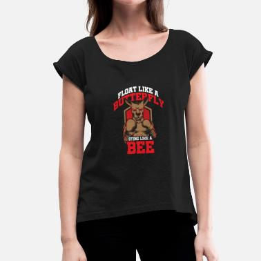 Tactics Boxing tactic - Women's T-Shirt with rolled up sleeves