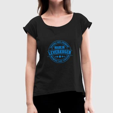 Leverkusen Leverkusen - Women's T-Shirt with rolled up sleeves