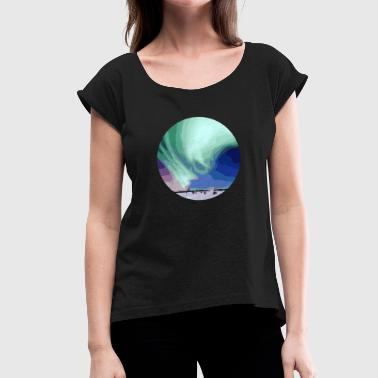 aurora - Women's T-Shirt with rolled up sleeves