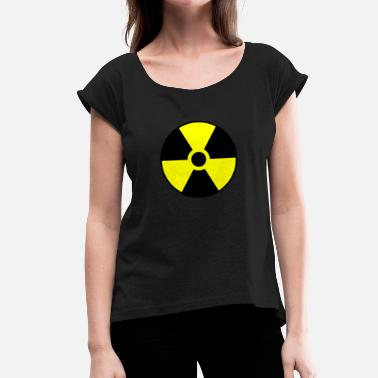 Radiation Radiation - Women's T-Shirt with rolled up sleeves