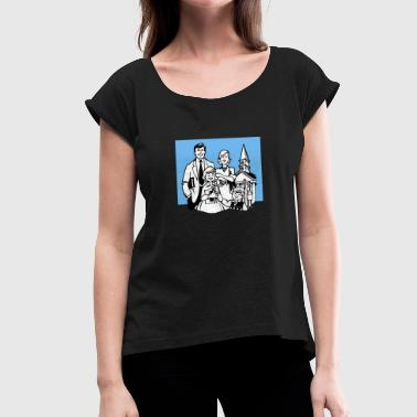 Christianity - Women's T-Shirt with rolled up sleeves