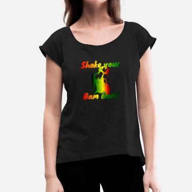 Dancehall Dancehall - Women's T-Shirt with rolled up sleeves