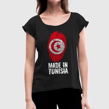 Made in Tunisia / Made in Tunisia تونس ⵜⵓⵏⴻⵙ - T-shirt à manches retroussées Femme