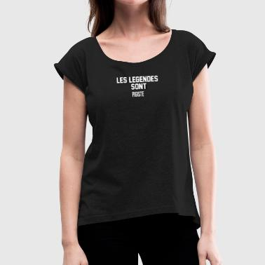Freelancer Freelance - Women's T-Shirt with rolled up sleeves