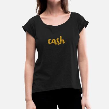 Gelding GELD MONEY CASH - Women's T-Shirt with rolled up sleeves